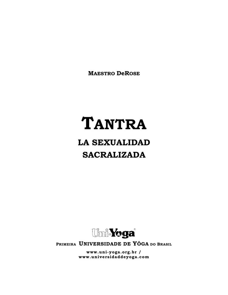 El tantra es conocido en todo el planeta como una práctica sexual 8594