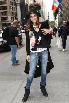 Alejandra brasileña en New York 6810