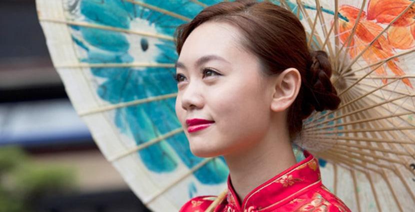 Una chiga asiatica mu guapa cariñosa 2656